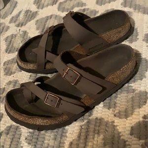 Birkenstock Maharishi Style Light Brown/Gray color